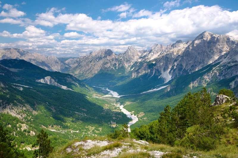 Image L'Albanie du nord au sud...