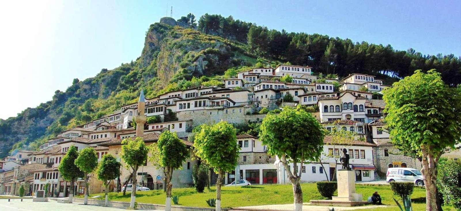Voyage à pied Albanie : Albanie version camping