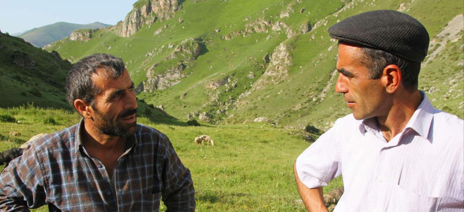 Voyage à pied : Azerbaïdjan : Rando des villages du Caucase