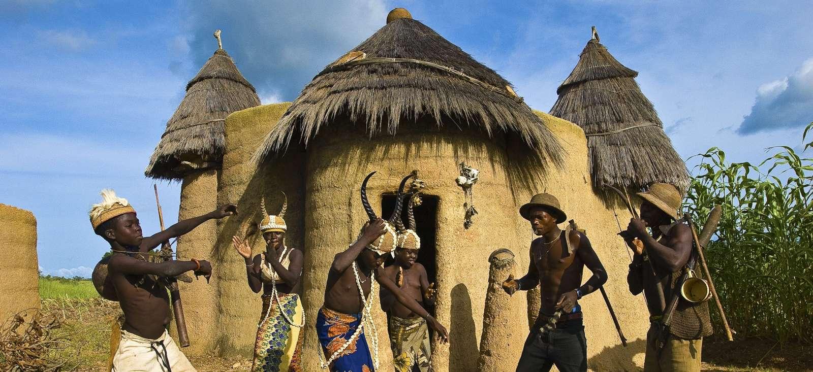Voyage à pied Bénin : Bénin et Togo, pas à pas