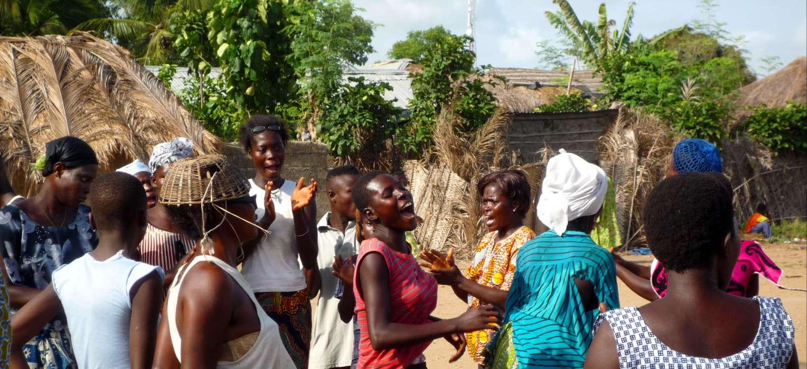 Voyage à pied : Peuples, faune et merveilles du Bénin
