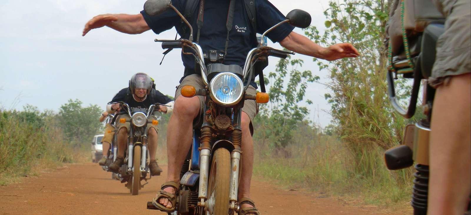 Voyage à pied Bénin : La tête dans le guidon