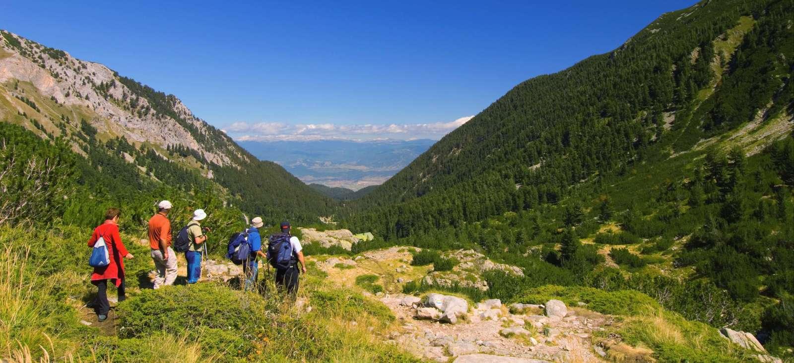 Voyage à pied : Au sommet des montagnes Bulgares
