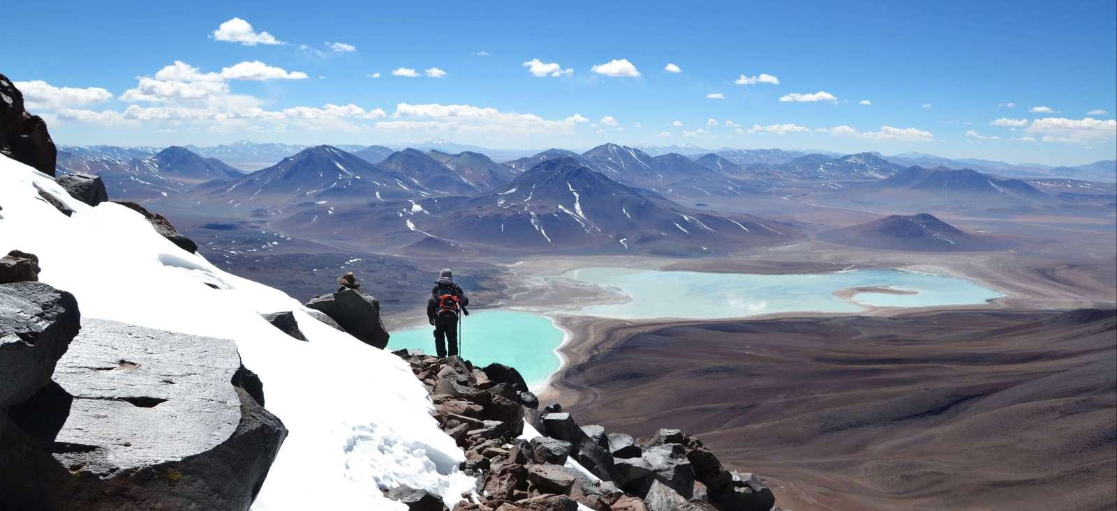 Voyage à pied : Licancabur & Huyana Potosi