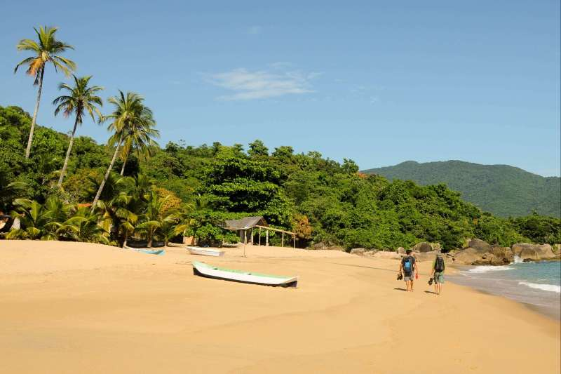 Voyage à pied : Bikini brésilien : Paraty & Rio