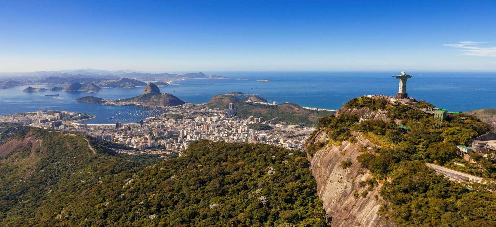Voyage à pied : Les 4 joyaux du Brésil