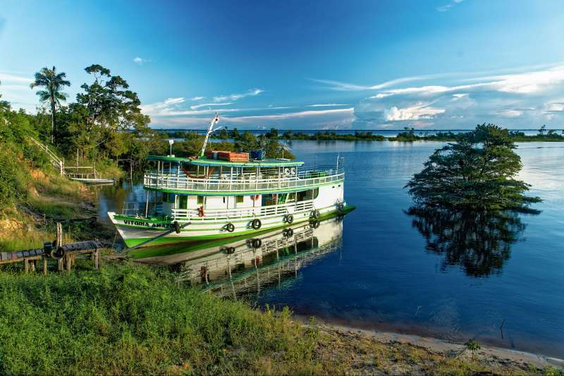 Voyage sur l'eau : Remonter L\'Amazone