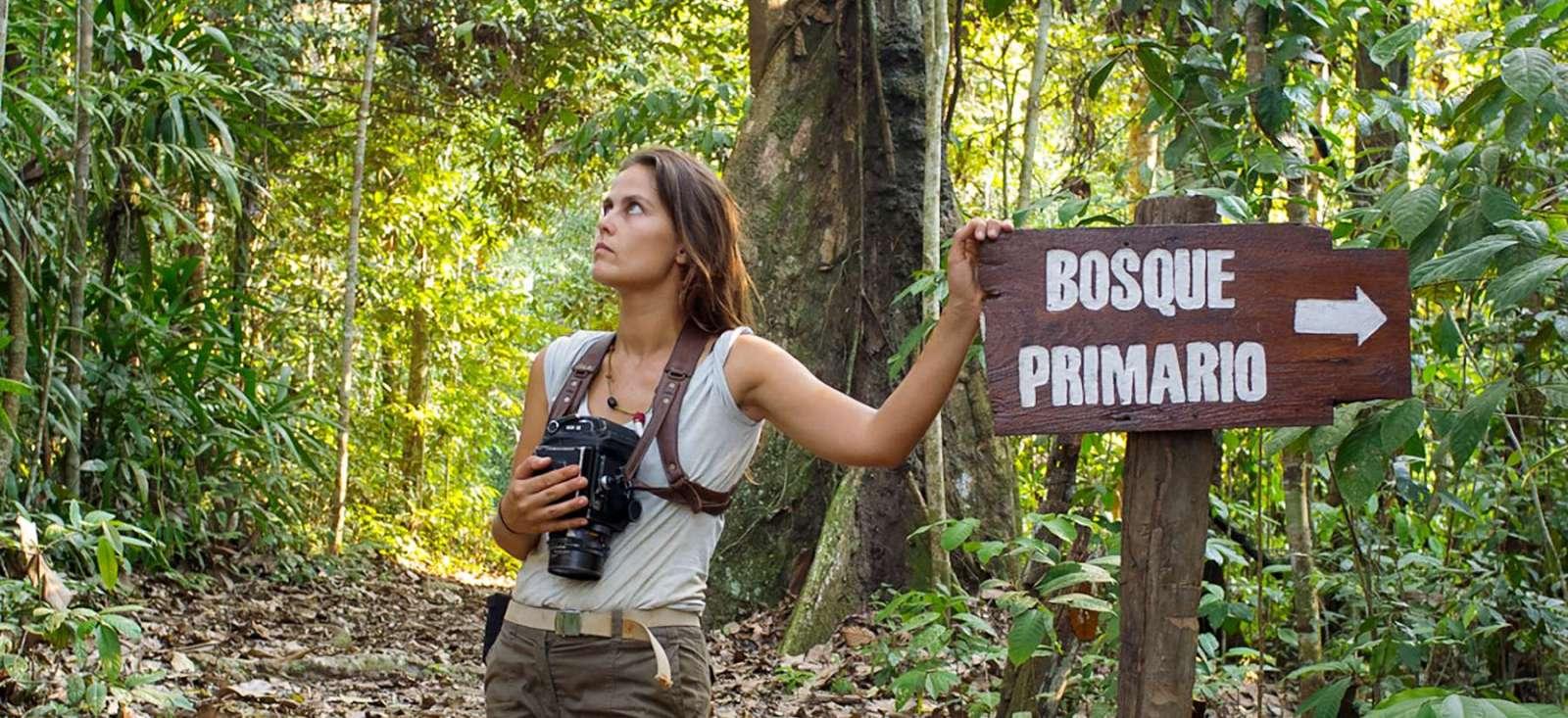 Voyage à pied :  L\'Amazonie dans le viseur !