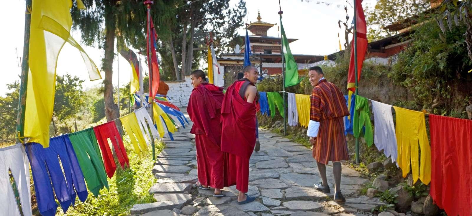 Voyage à pied Bhoutan : Les trois royaumes himalayens