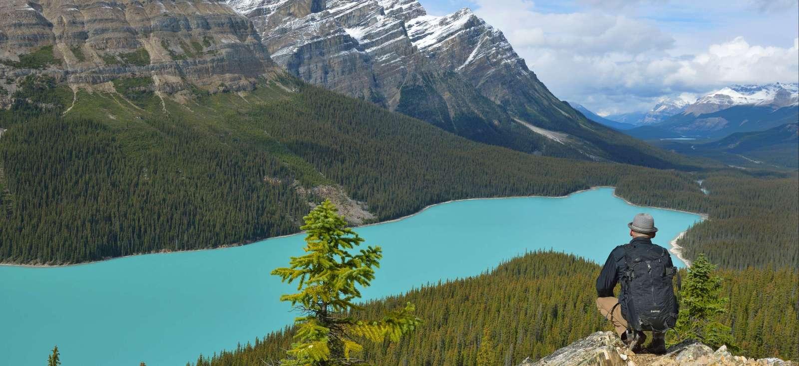 Voyage à pied Canada : Quatre pépites dans les Rocheuses