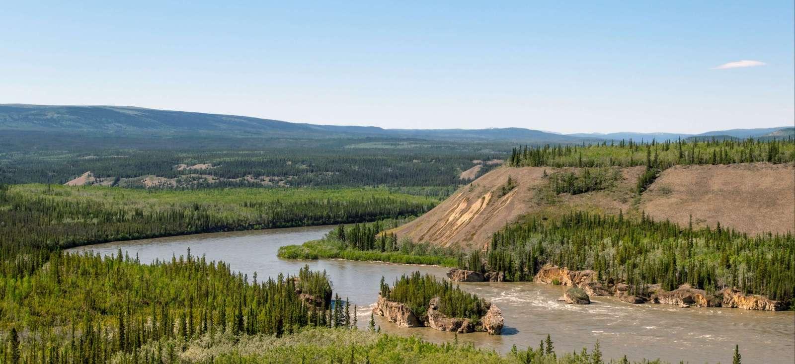 Voyage sur l'eau Canada : La ruée vers l\'or du Klondike.