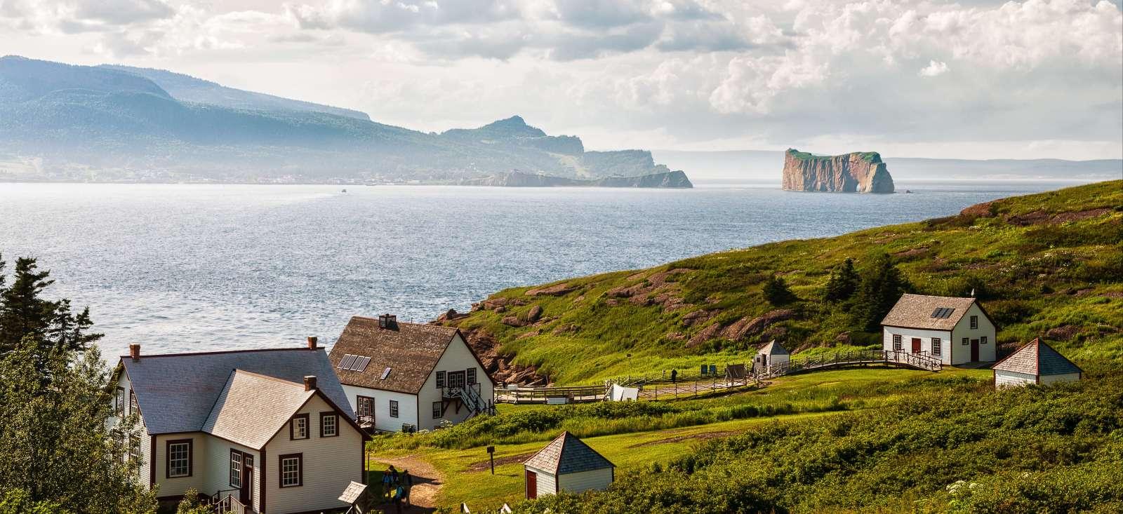 Voyage à pied : Bienvenue en Gaspésie