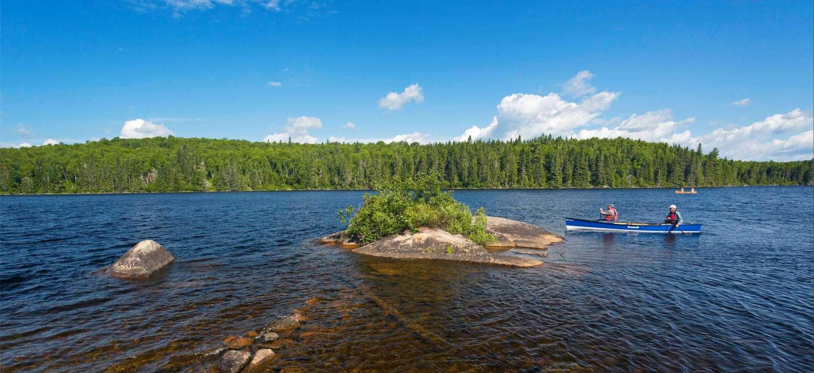 Voyage à pied : Escapade en canot-camping