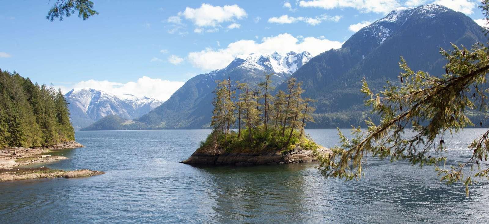 Voyage à pied : Canada : Haida Gwaii