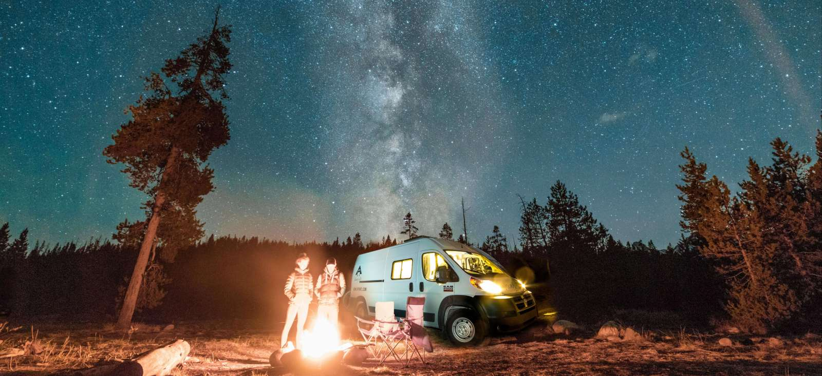 Voyage à pied : Le Quebec sous les étoiles