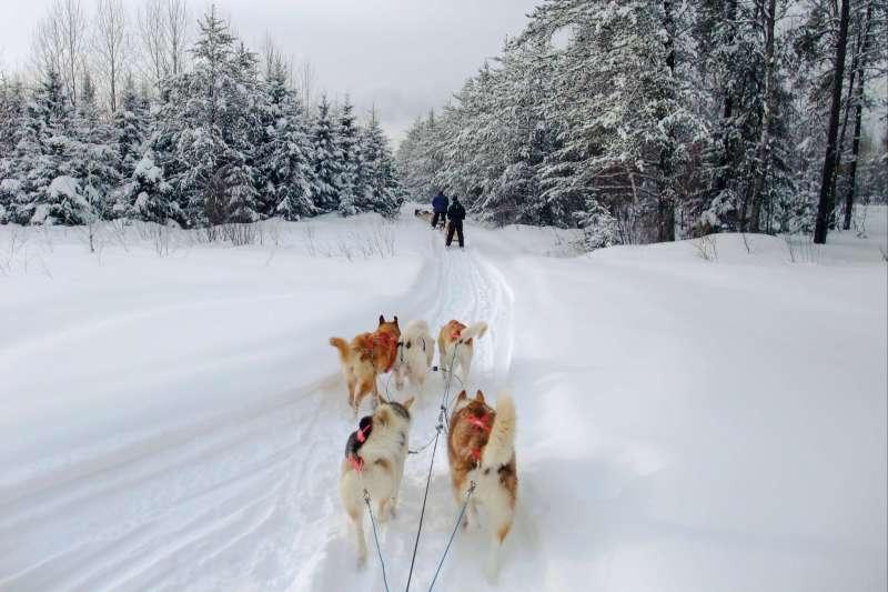 Voyage à pied : Le Québec en hiver, c\'est l\'fun!