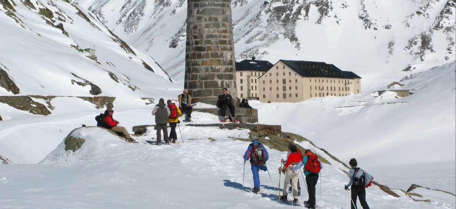 Voyage à la neige Suisse : En chemin pour le Grand Saint Bernard