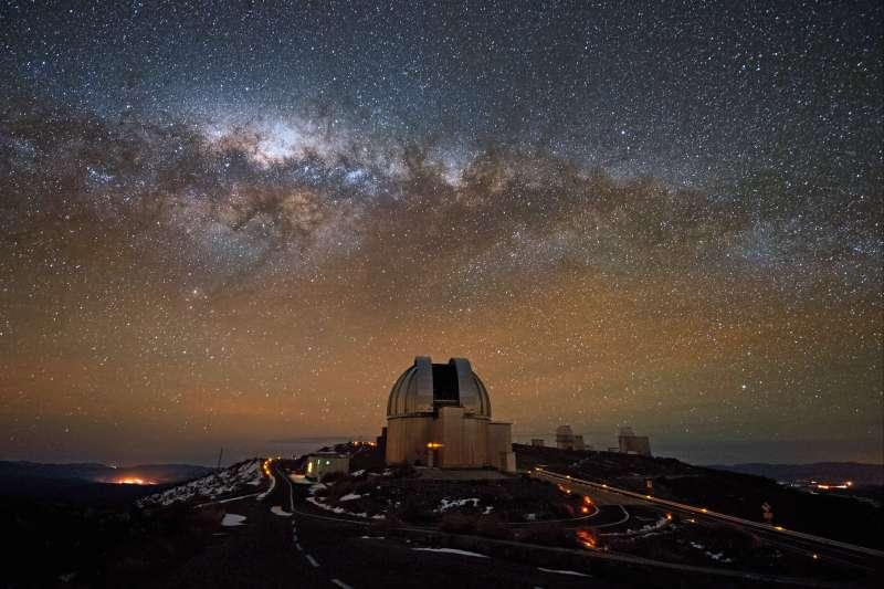 Voyage à pied : Un peu plus près des étoiles...