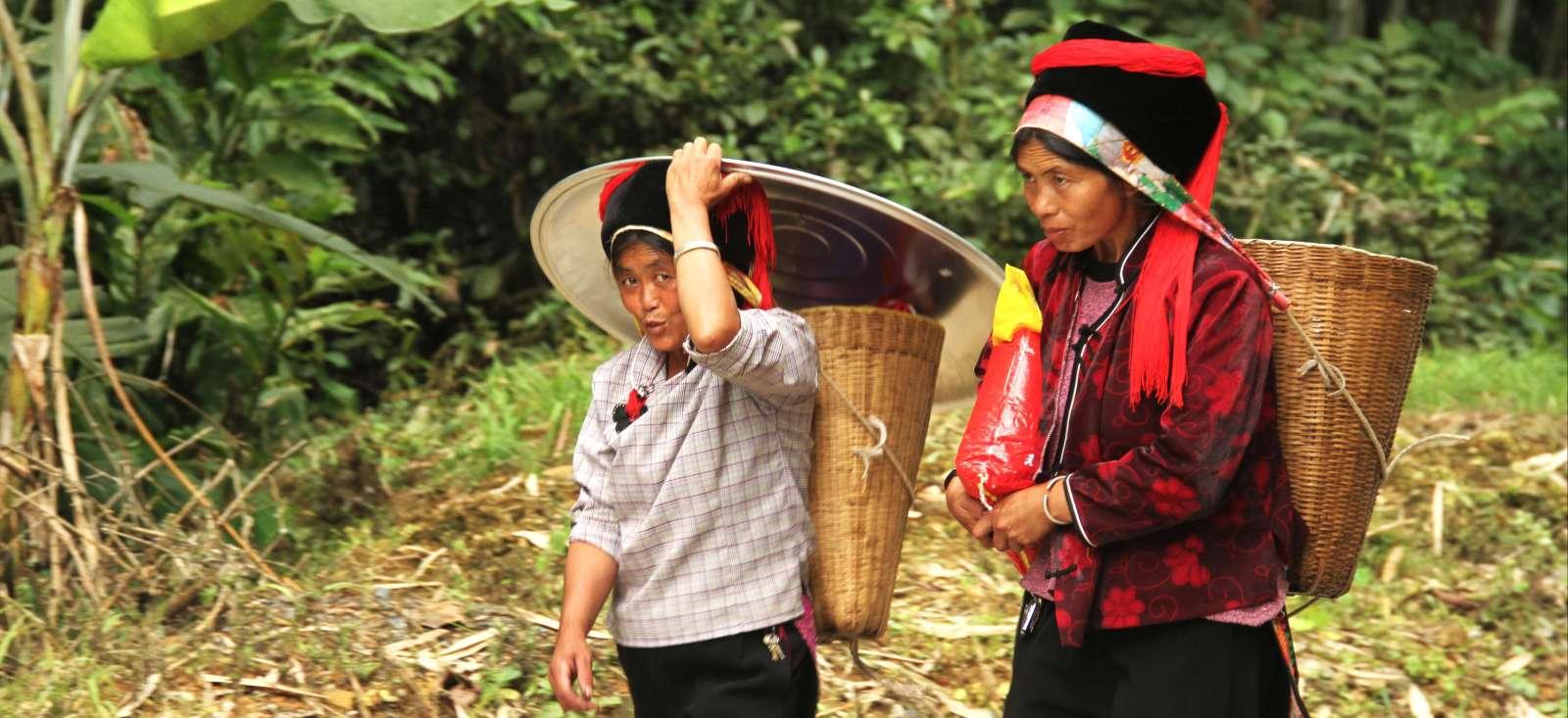 Voyage à pied : Le Yunnan, 100 % local