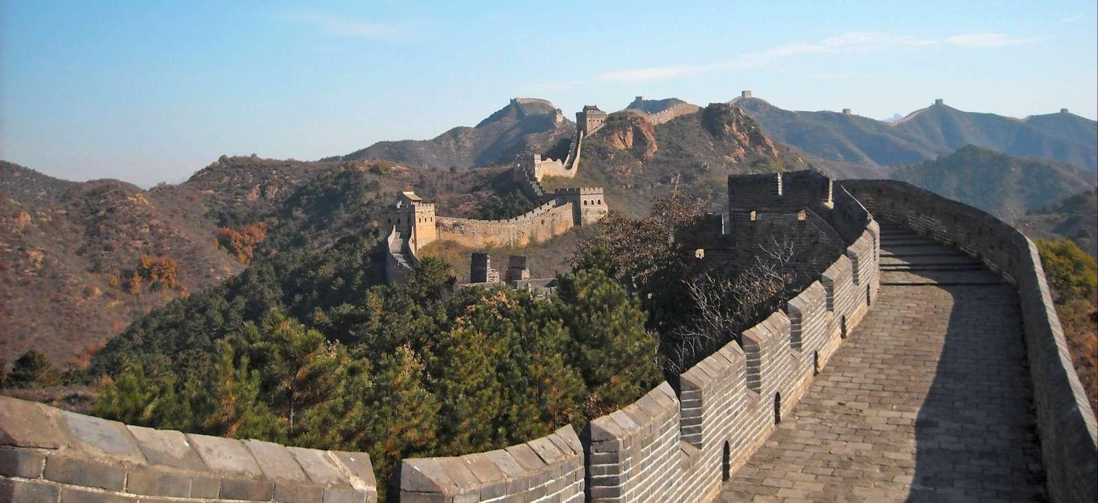 Voyage à pied : A la conquête de la Grande Muraille à pied