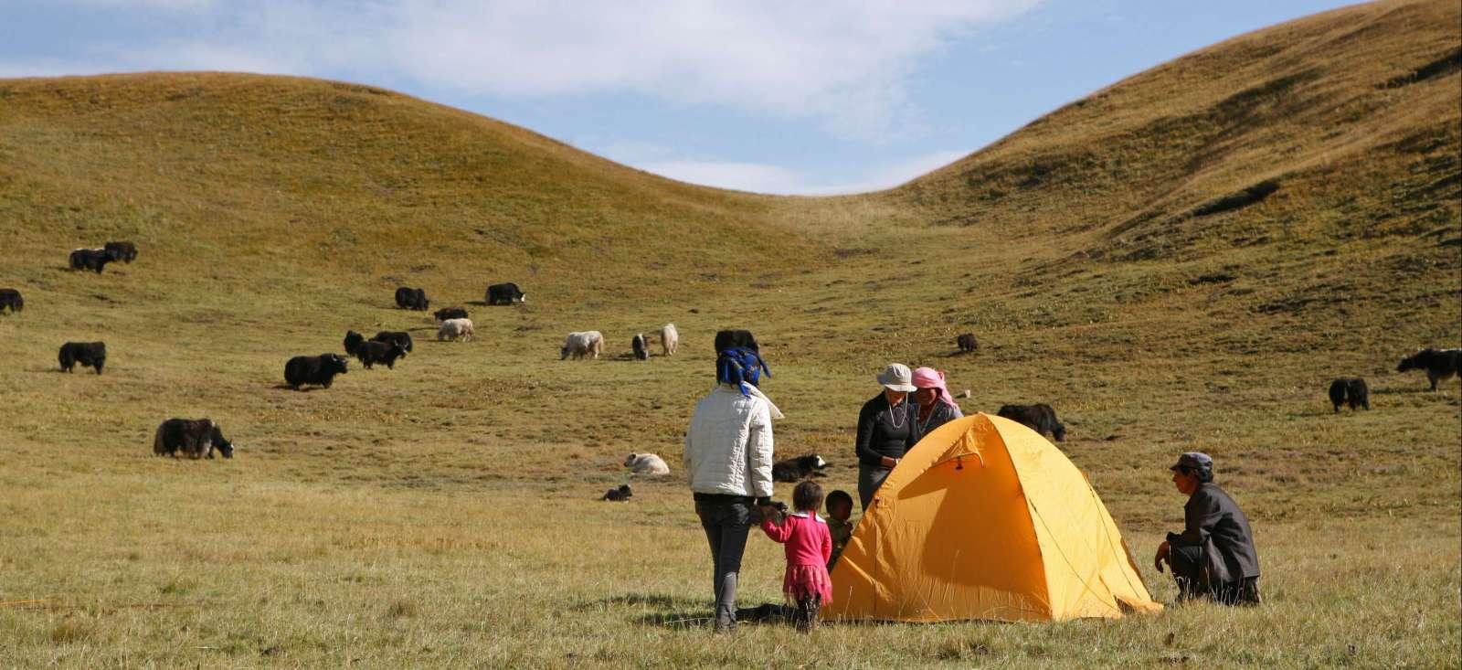 Voyage à pied : Chine : Aux confins de l'Amdo