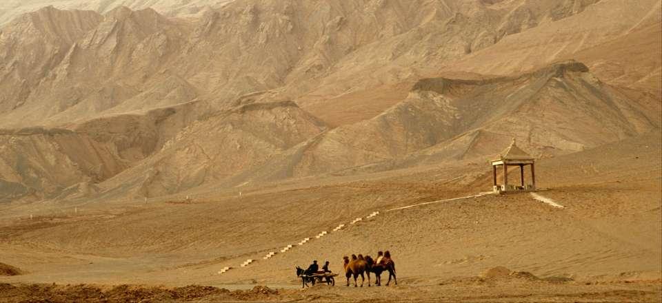 route de la soie paysage