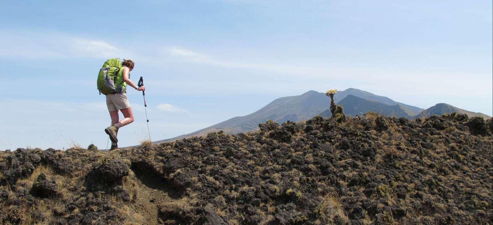 Voyage à pied : Mont Cameroun