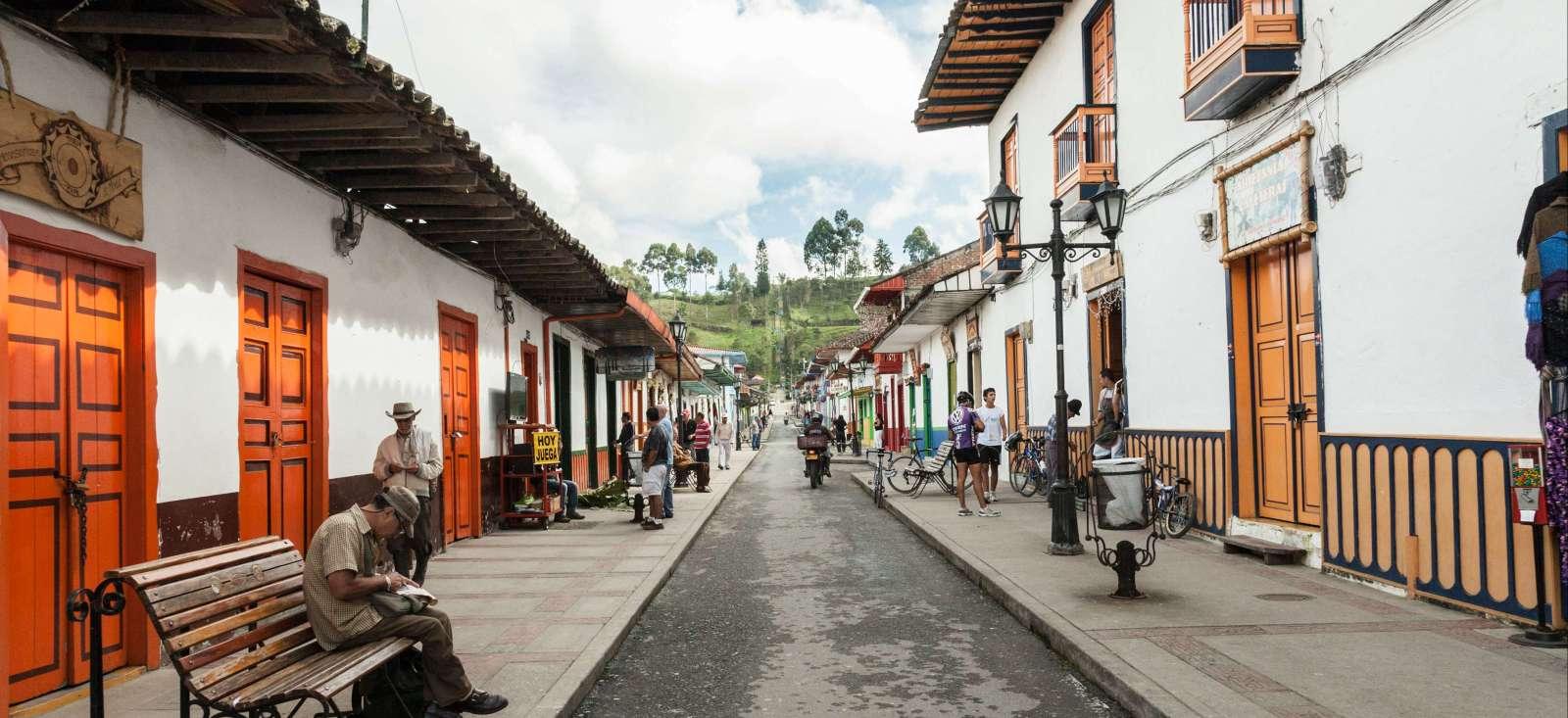 Voyage à pied : Pueblitos de Colombia