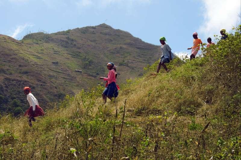 Voyage à pied : Les petits aventuriers du Cabo Verde