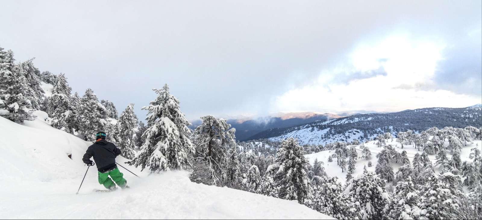Voyage en raquette : Rando et ski sur l\'île d\'Aphrodite