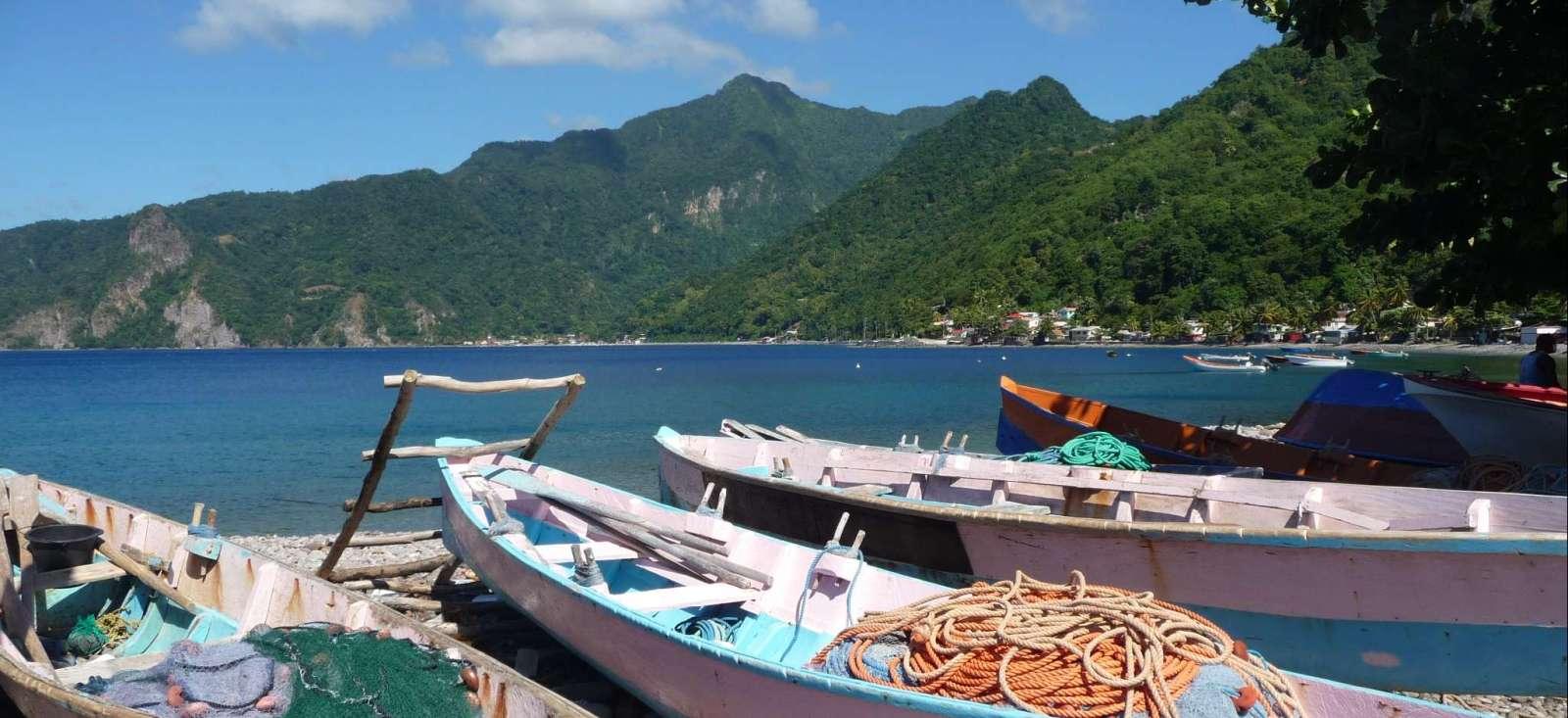 Voyage à pied Dominique : Rando et plages au cœur de la Dominique