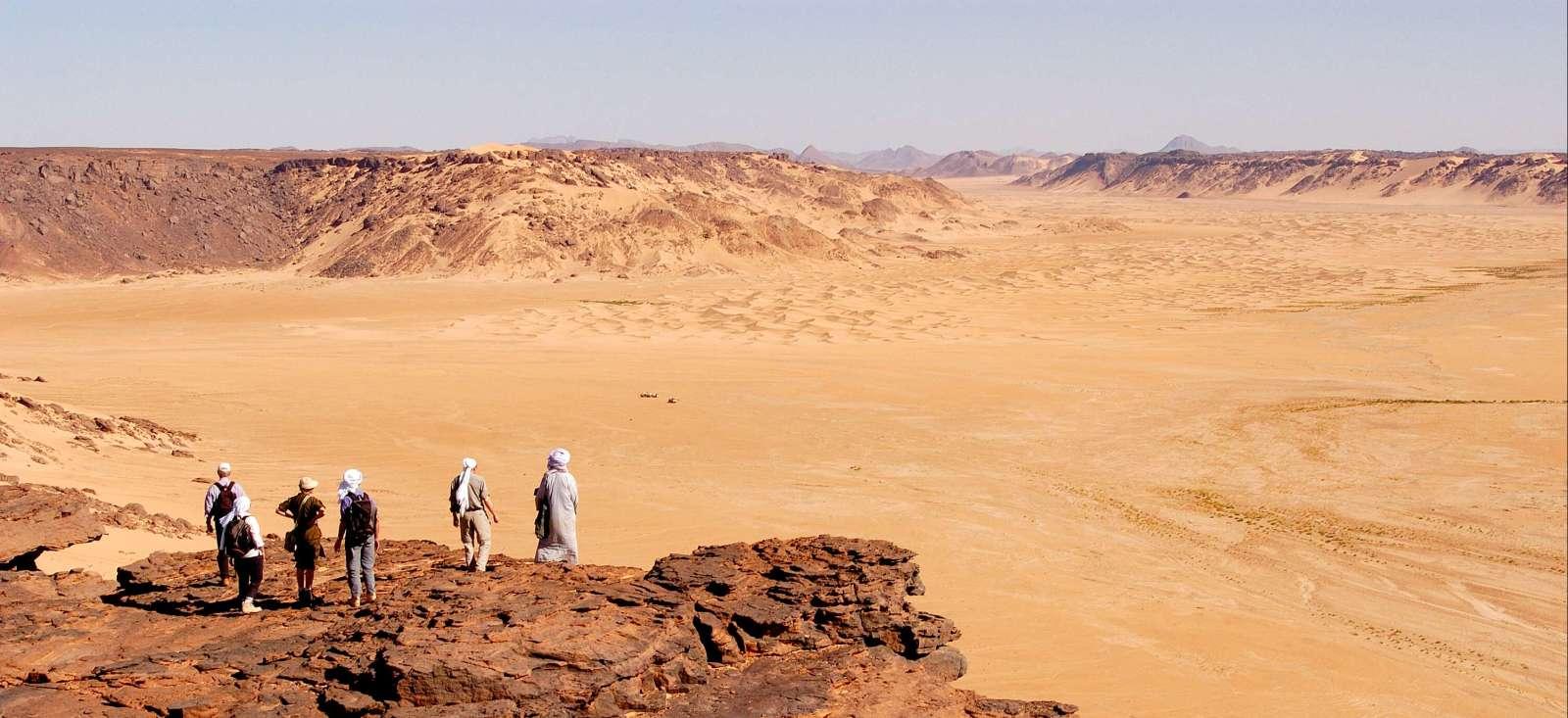 Voyage à pied : Au cœur du Hoggar et de l\'Assekrem
