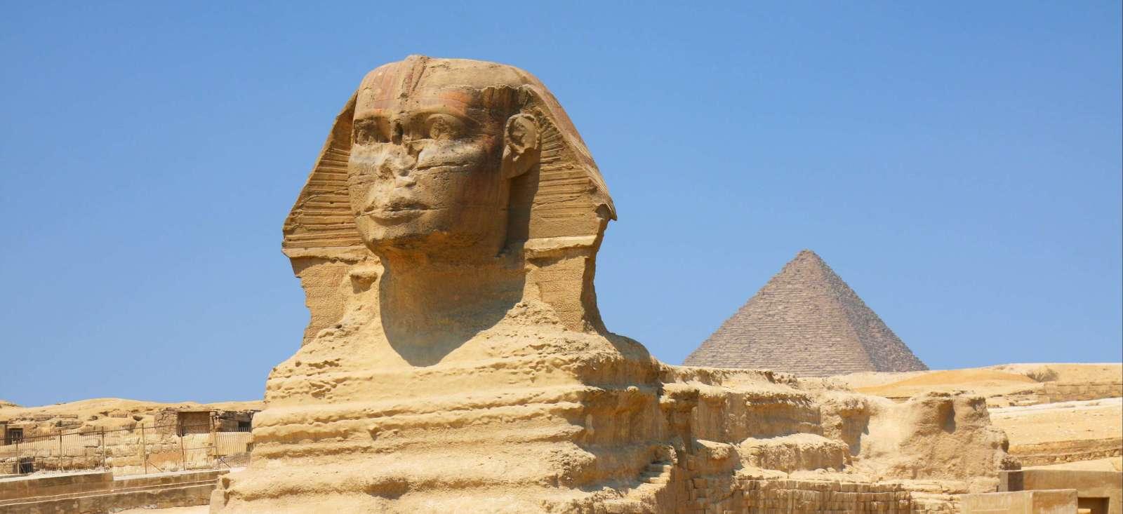 Voyage à pied : Pyramides, sphinx: voyage chez les pharaons!