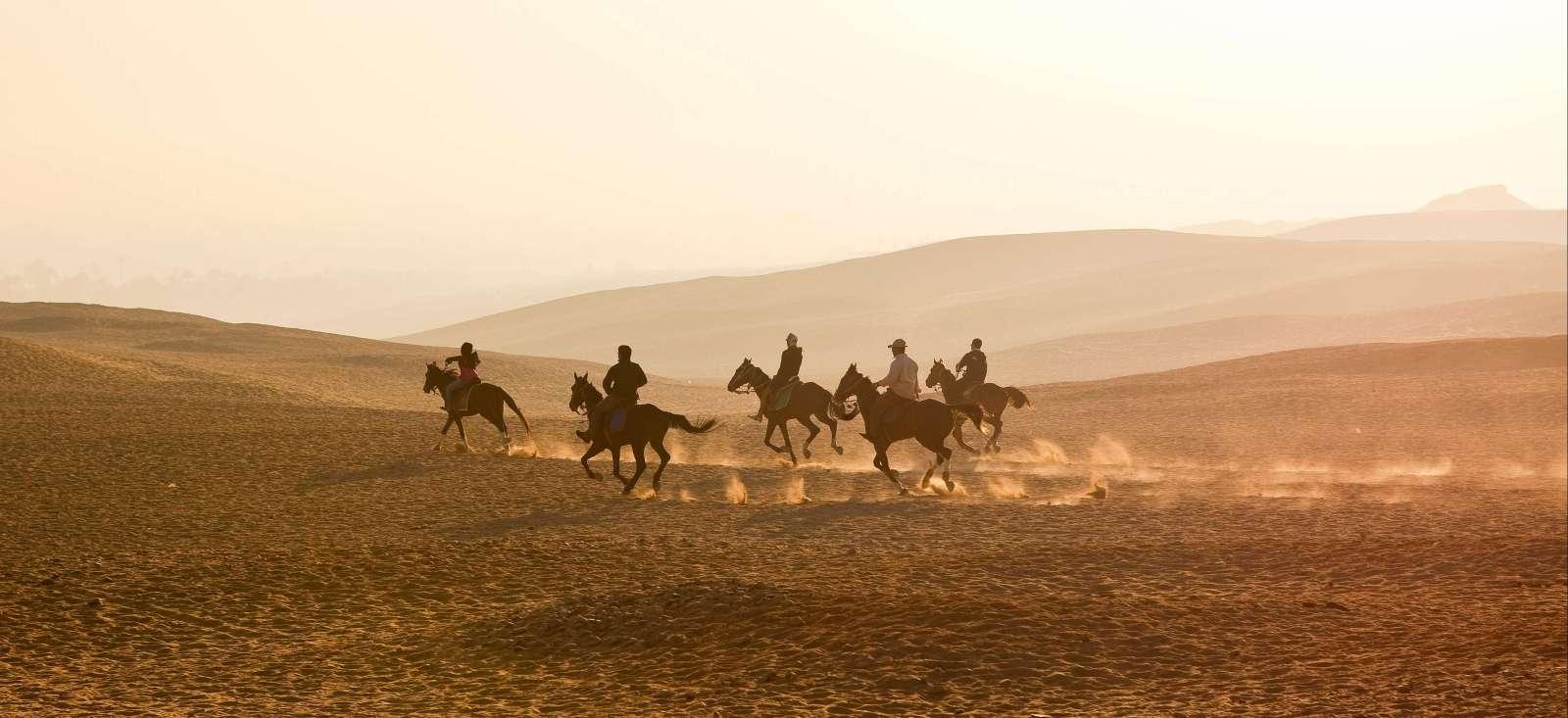 Image A cheval sur les pas des pharaons
