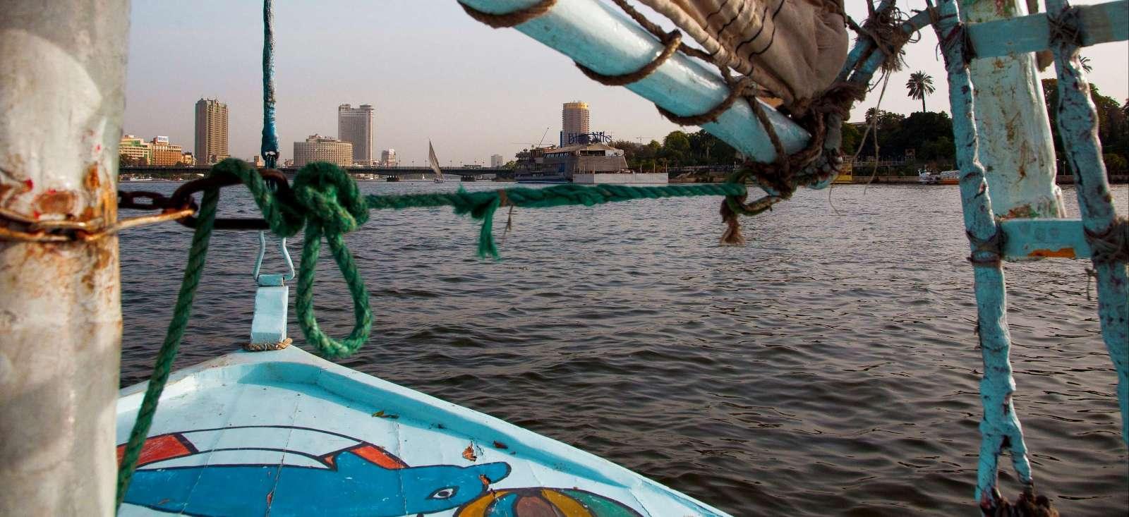 Voyage à pied : Egypte : Rando en felouque et pyramides de Gizeh