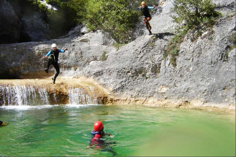 Canyoning en Sierra de Guara (version camping)