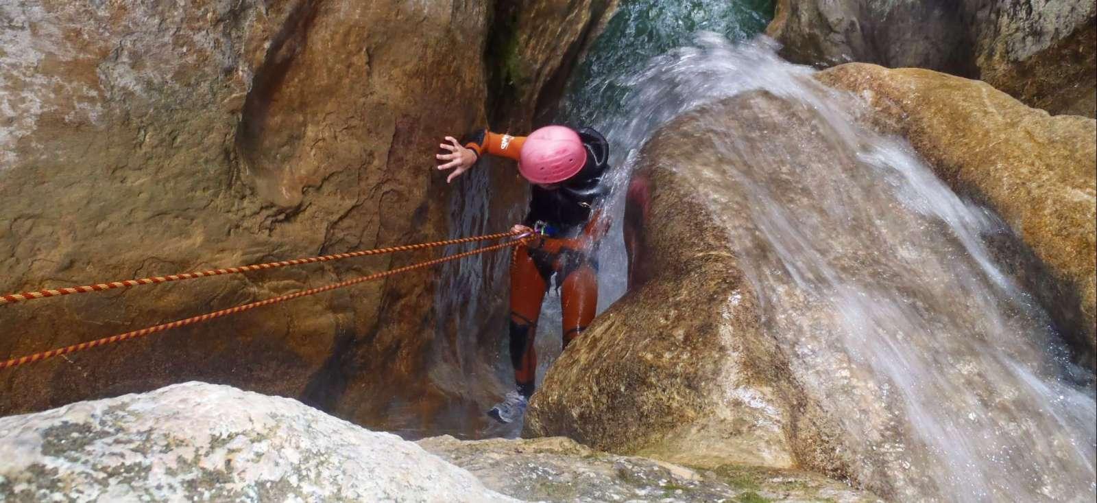 Voyage sur l'eau : Canyoning en Sierra de Guara (version camping)