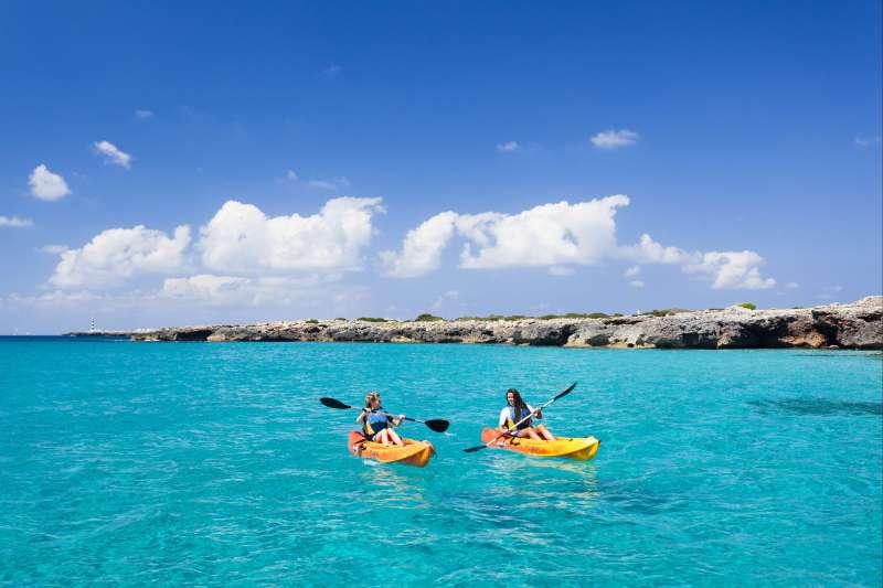 Image Tour de Minorque en kayak de mer