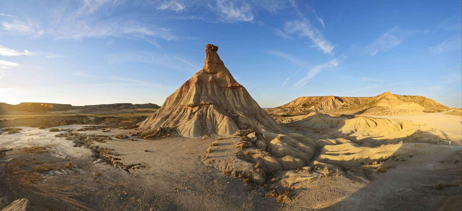 Voyage à pied : Découverte du désert des Bardenas Reales