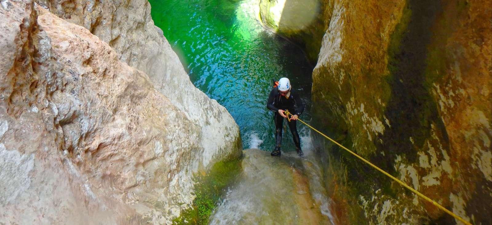 Voyage à pied : Canyoning à Majorque