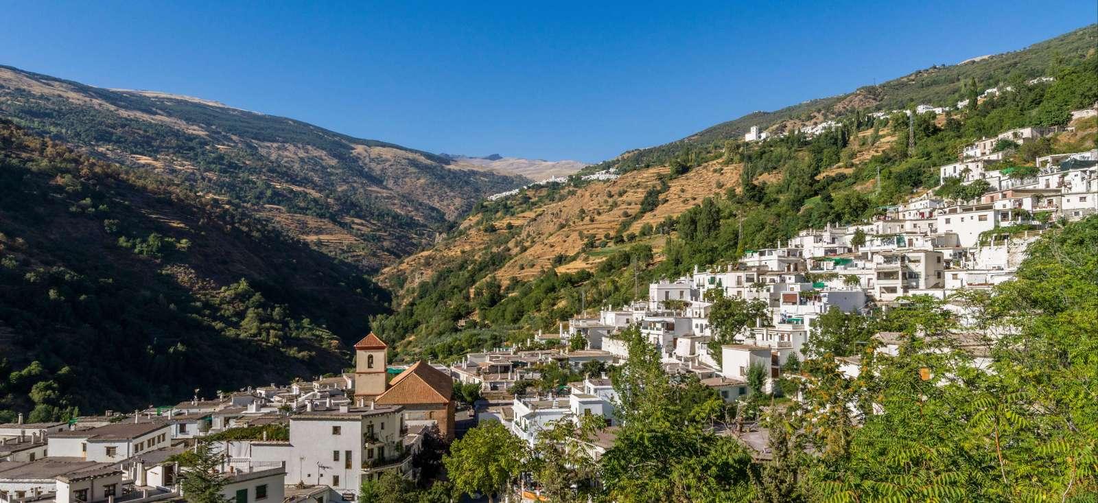 Voyage à pied : Andalousie : Sierras et villages blancs