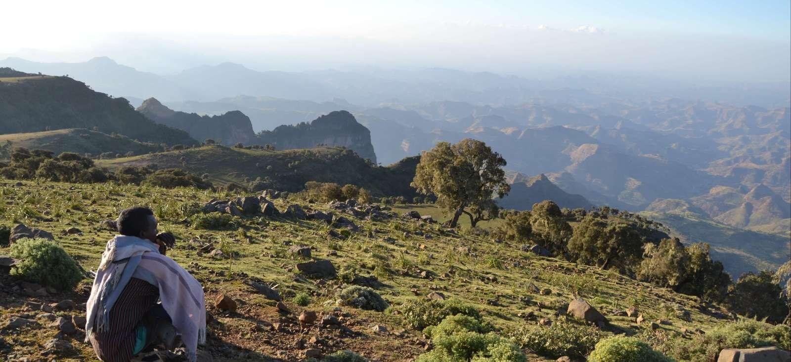 Voyage à pied : Grande randonnée dans le massif du Simien