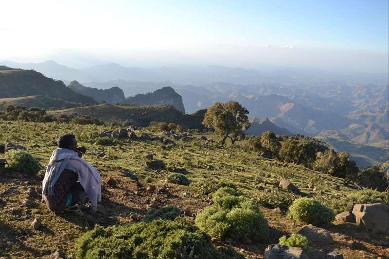 Image Trek hauts plateaux d'Abyssinie et volcans !