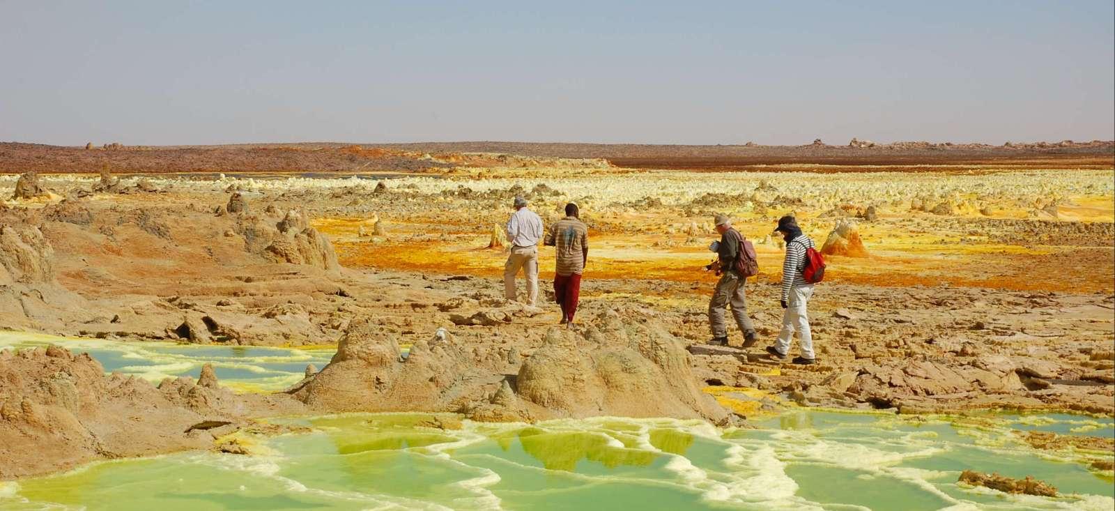Voyage à pied : Trek hauts plateaux d\'Abyssinie et volcans !