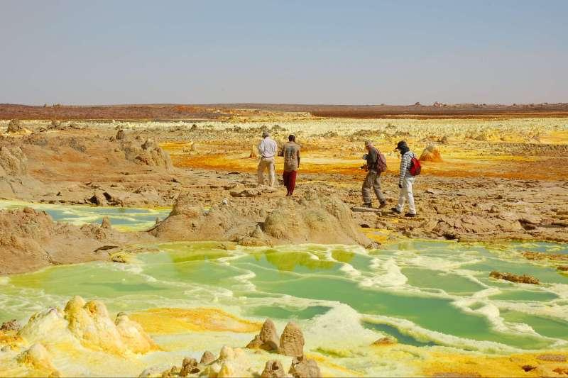 Voyage à pied : Trek hauts plateaux d\'Abyssinie et Dallol !