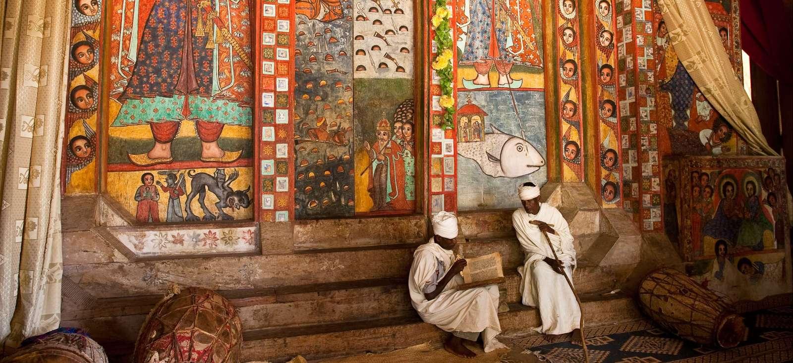 Voyage à pied Ethiopie : Trésors du Nord et tribus du Sud !