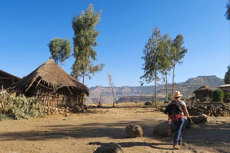 Voyage à pied : Route historique et randonnée dans le Simien