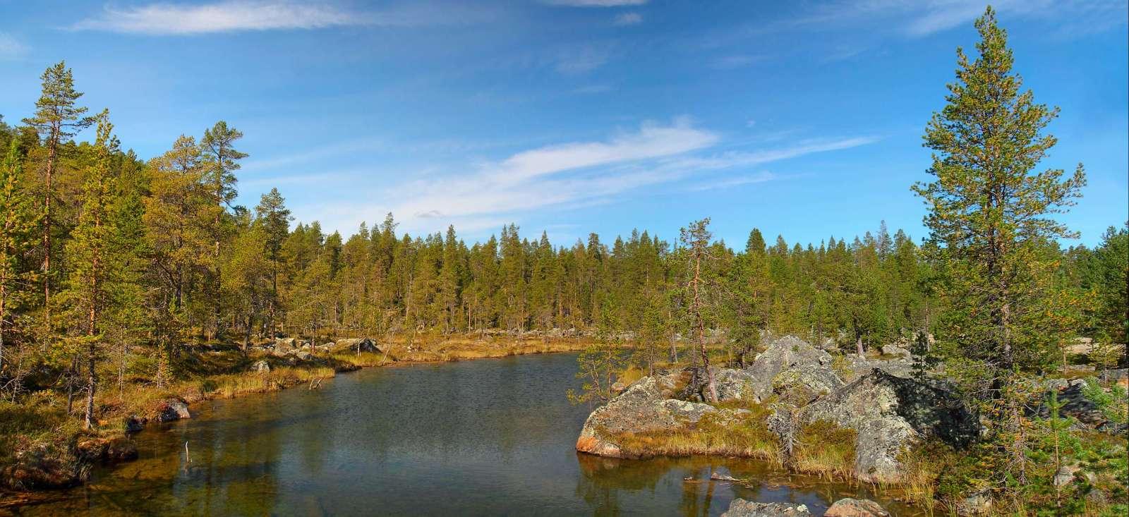 Voyage à pied : Magique Scandinavie de la Laponie au Cap Nord