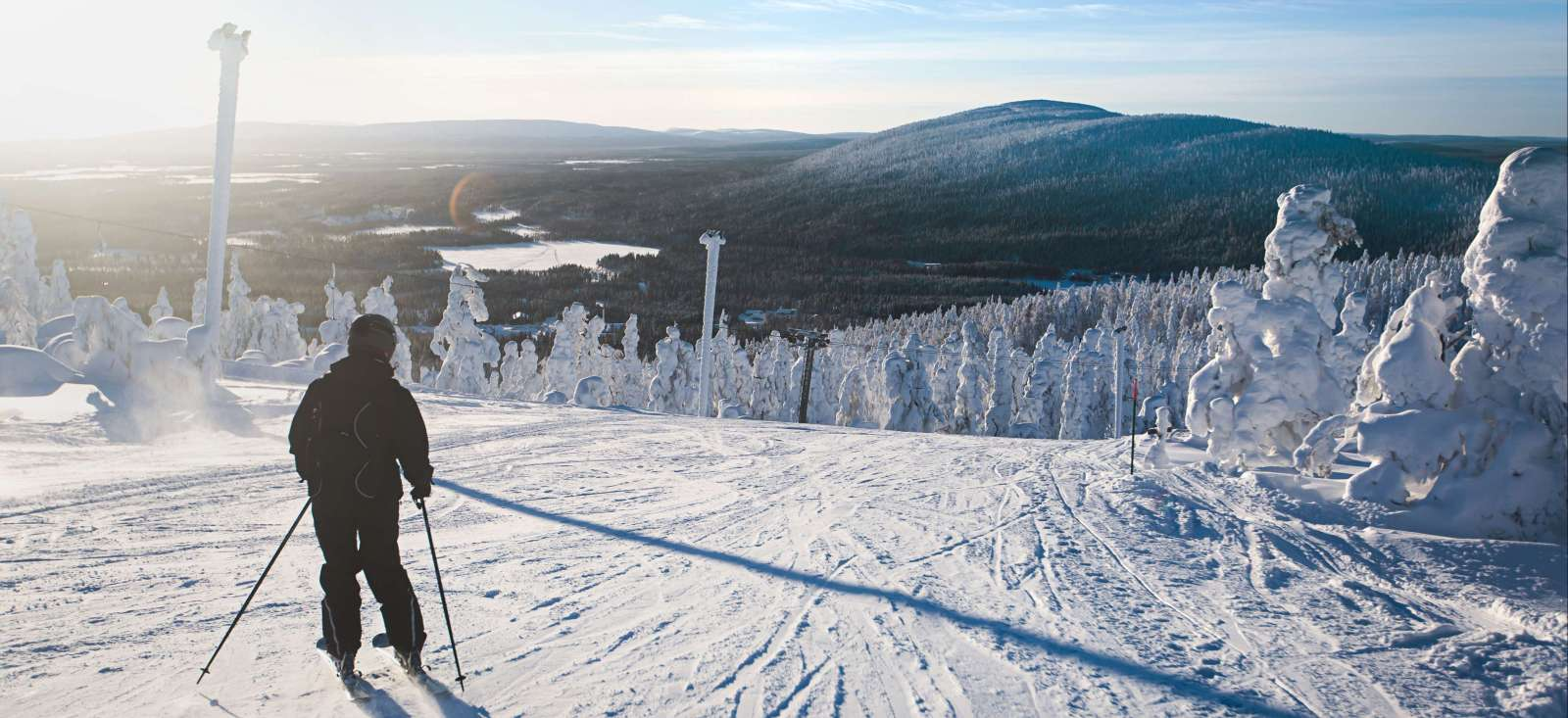 Voyage à la neige : Ski nordique et pulka en Laponie finlandaise