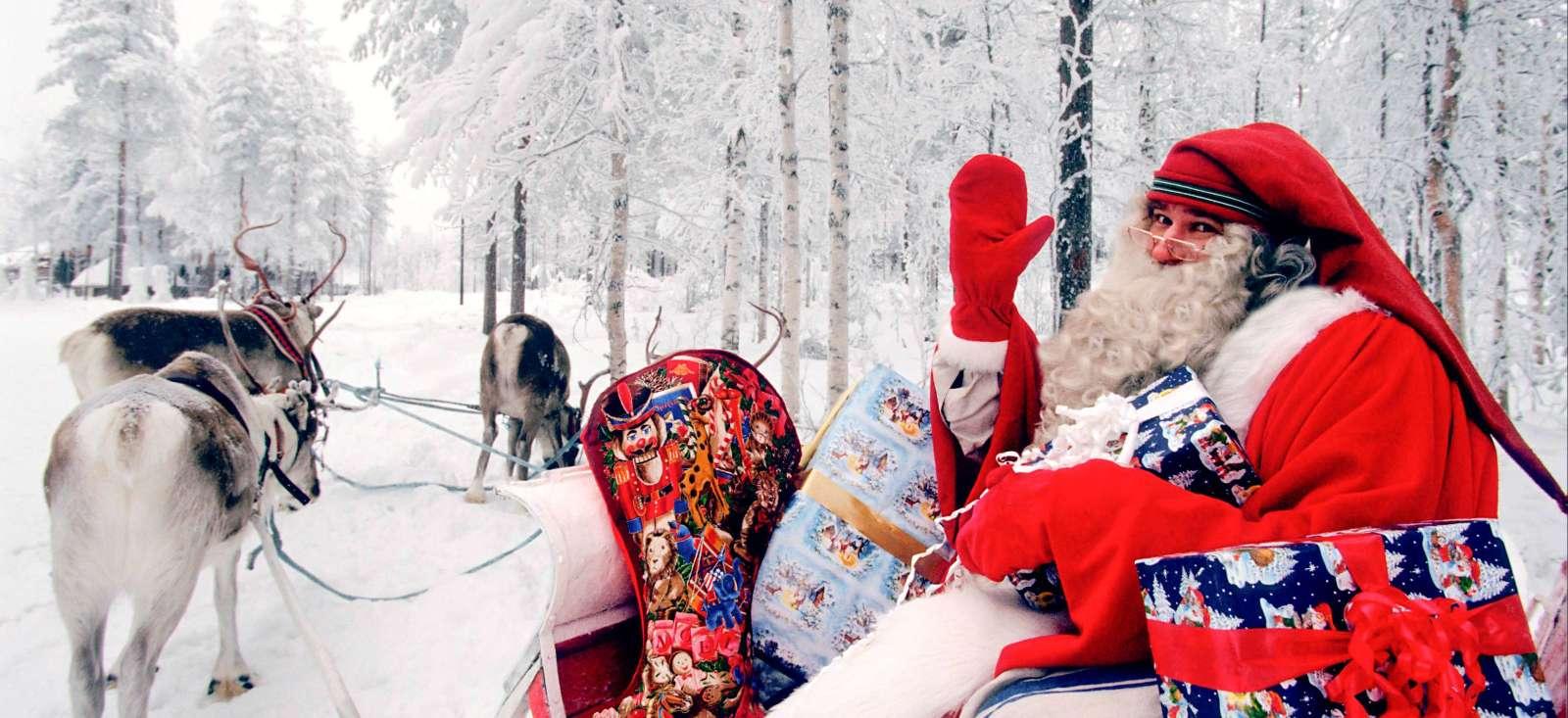 Voyage à pied : Bienvenue au pays du Père Noel